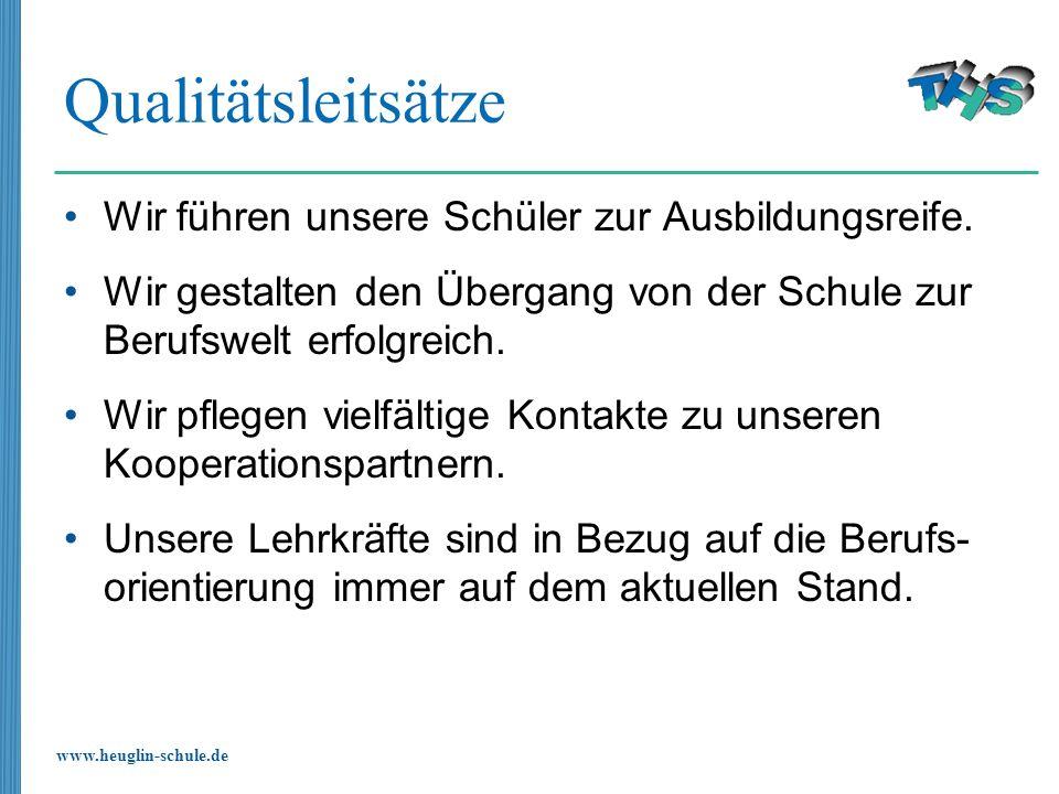 www.heuglin-schule.de Klasse 8 - Übergangsmanagement Ab 2.
