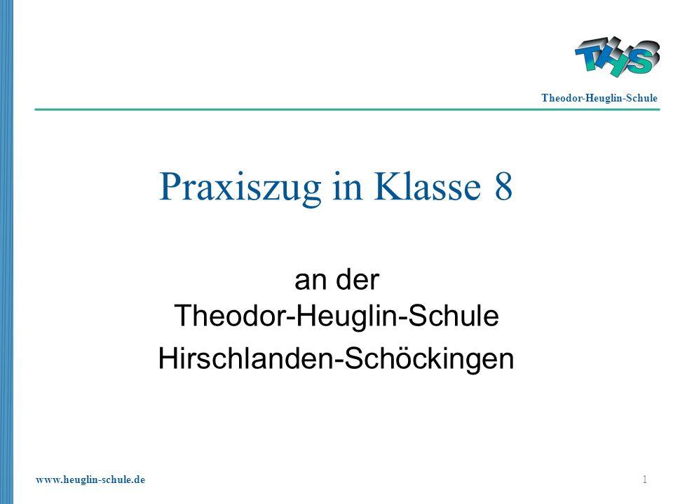 www.heuglin-schule.de 12 Leitidee Erste Unterrichtseinheit: Crazy Machine am PC Erste Umsetzung: Aufgabenstellung vergleichbar der Crazy Machine.
