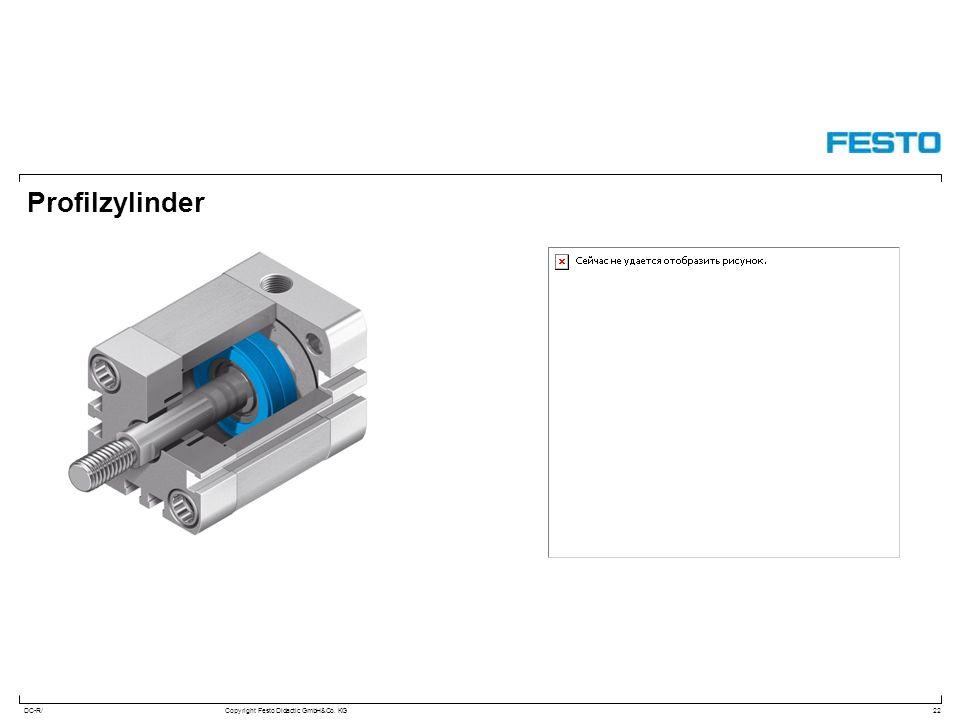 DC-R/Copyright Festo Didactic GmbH&Co. KG Profilzylinder 22