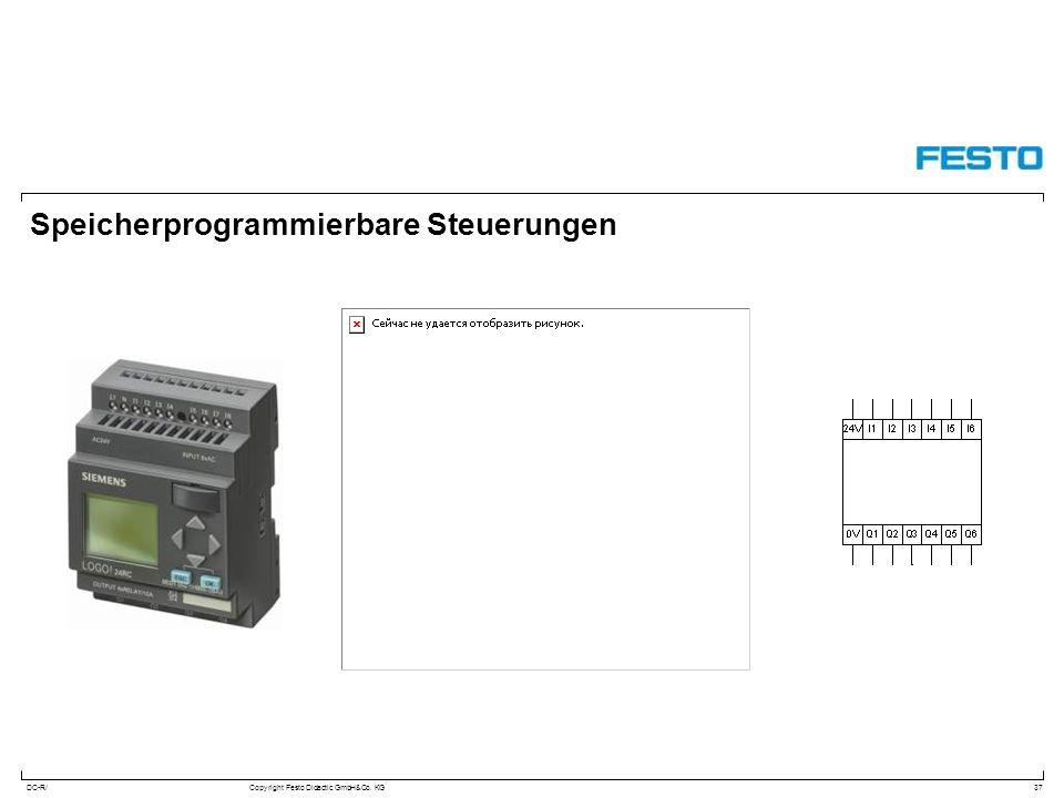 DC-R/Copyright Festo Didactic GmbH&Co. KG Speicherprogrammierbare Steuerungen 37