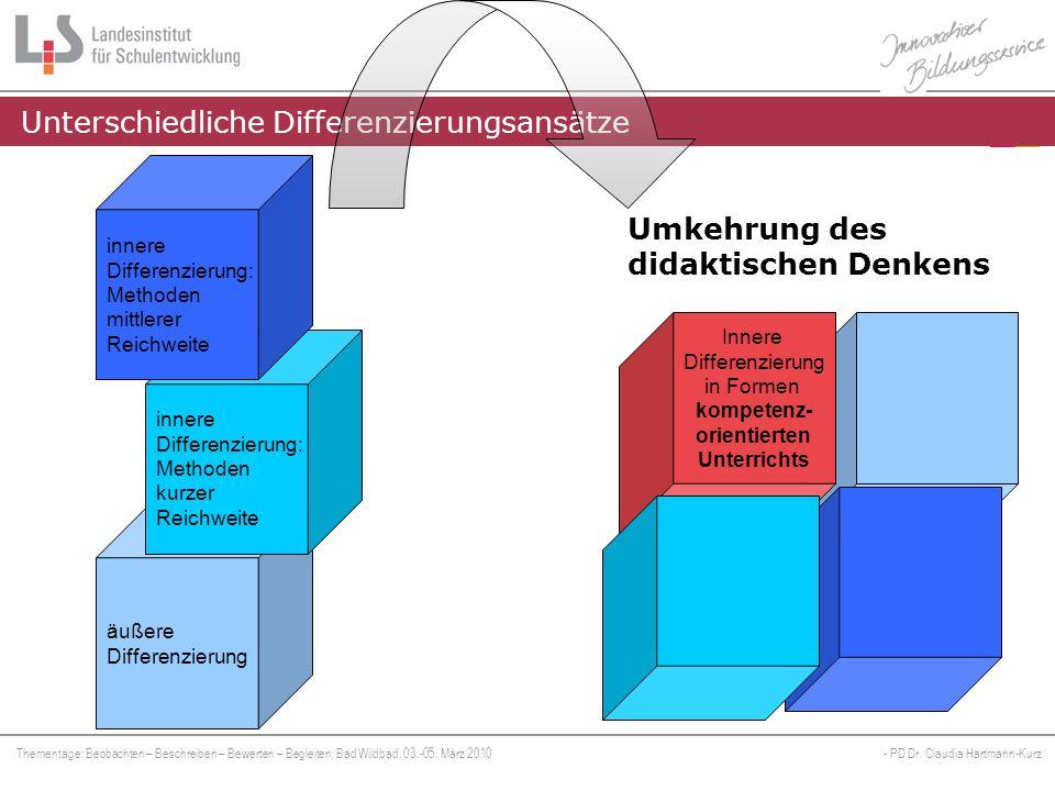 Thementage: Beobachten – Beschreiben – Bewerten – Begleiten, Bad Wildbad, 03.-05.