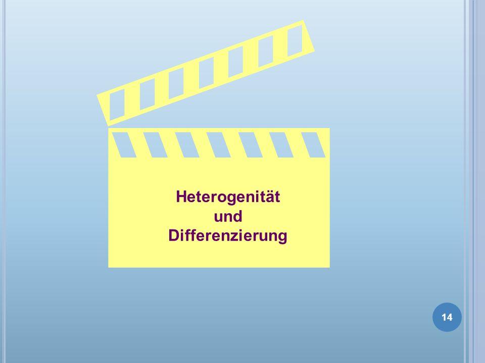 Heterogenität und Differenzierung 14