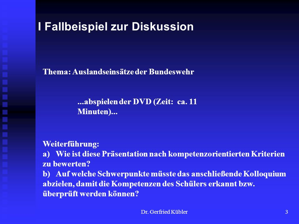 Dr. Gerfried Kübler14