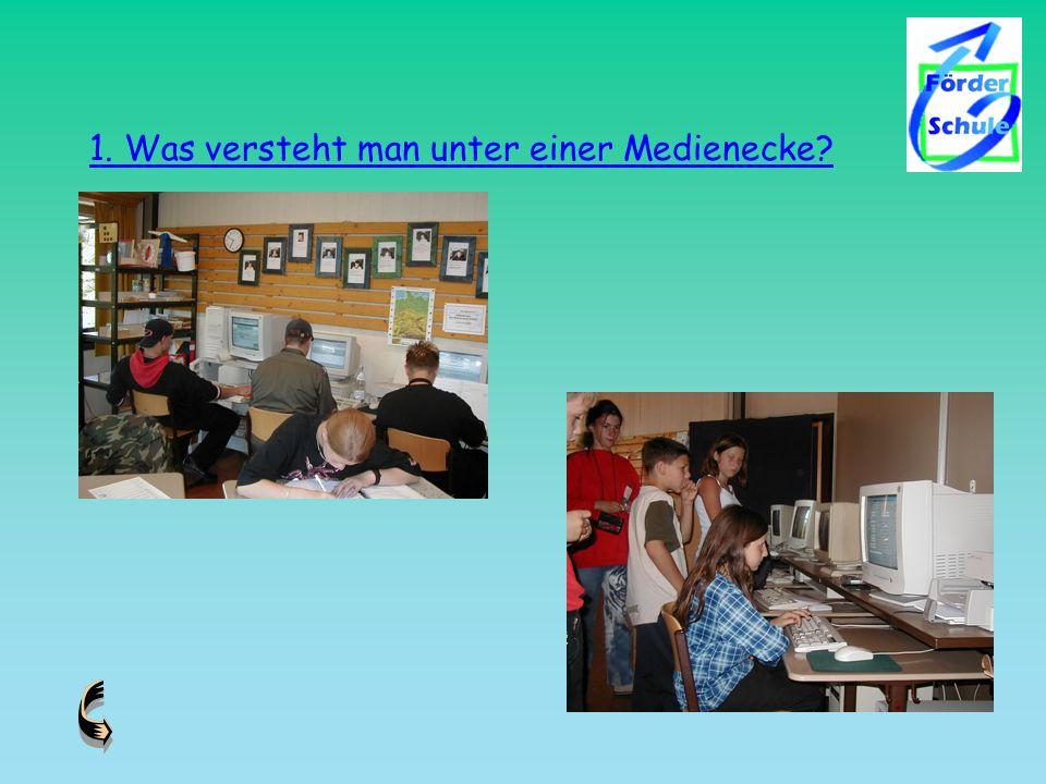2-3 Rechner im einzelnen Klassenzimmer Vernetzung der Rechner untereinander und Internetzugang oder: direkter Anschluss an ein größeres schulinternes Netz mit Internetzugang