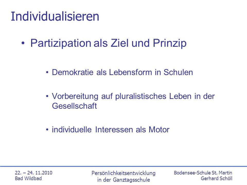 Bodensee-Schule St. Martin Gerhard Schöll 22. – 24.