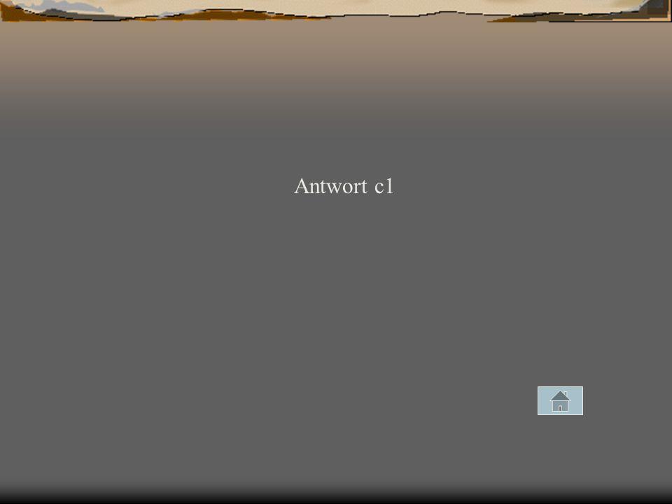 Antwort c1