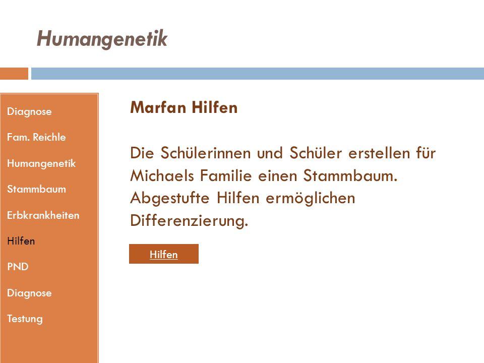 Humangenetik Diagnose Fam.