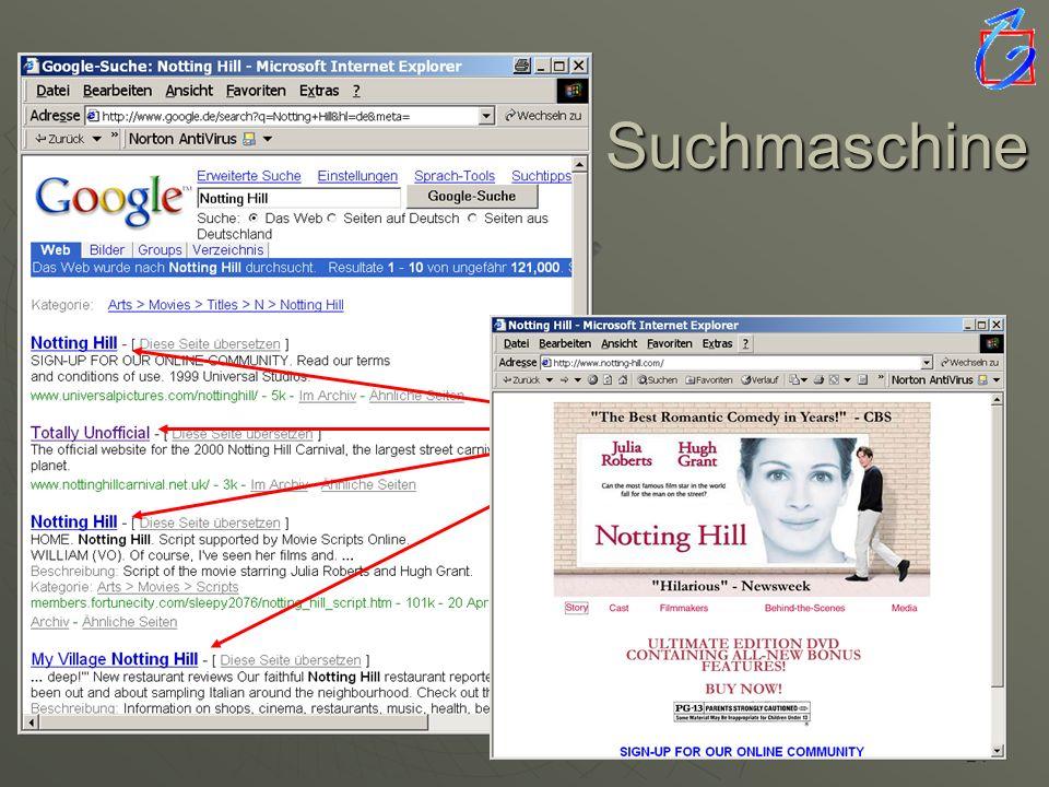 23 Suchmaschine Suchbegriff Start