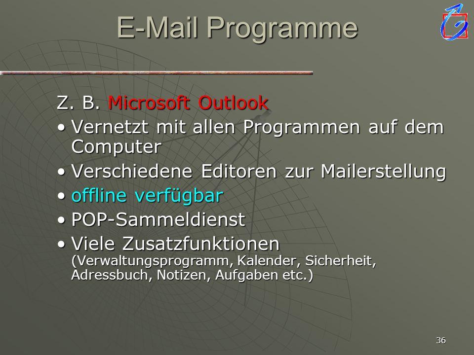 35 Quellen Web.de Microsoft Outlook Freenet.de