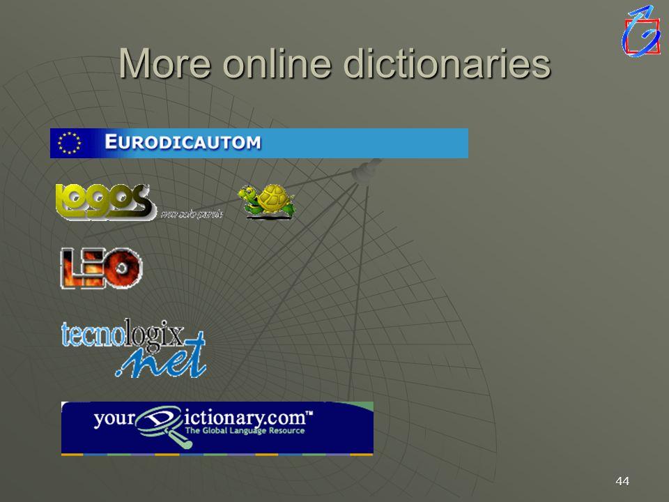 43 LEO Online Suchbegriff Sprachrichtung Übersetzungen