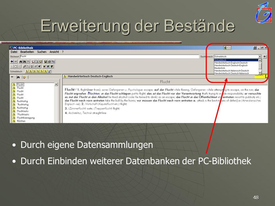 47 PC-Bibliothek Englisch, Version 3.0 mit Plus-Paket Englisch-Deutsch /Deutsch-Englisch Entwickelt von der Langenscheidt- Redaktion. CD-ROM mit insge