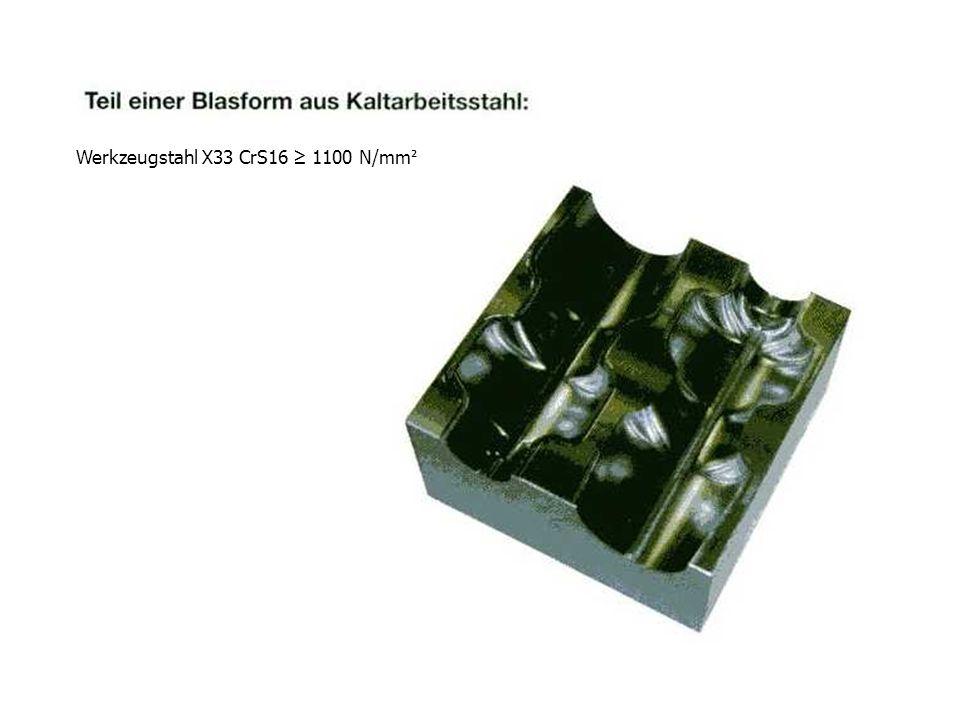 Werkzeugstahl X33 CrS16 1100 N/mm ²