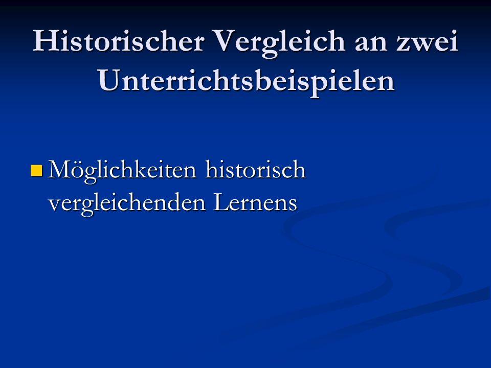 Weitere Beispiele für deutsch- deutsche Vergleiche Partizipationsangebote Partizipationsangebote Widerspruch, Opposition, Widerstand Widerspruch, Opposition, Widerstand Geschlechterverhältnisse Geschlechterverhältnisse Reaktionsmuster in Krisen Reaktionsmuster in Krisen Eigen- und Fremdwahrnehmung Eigen- und Fremdwahrnehmung Verhältnis zu Alliierten, Nachbarn Verhältnis zu Alliierten, Nachbarn Arbeit, Beschäftigung Arbeit, Beschäftigung Materielle Versorgung Materielle Versorgung