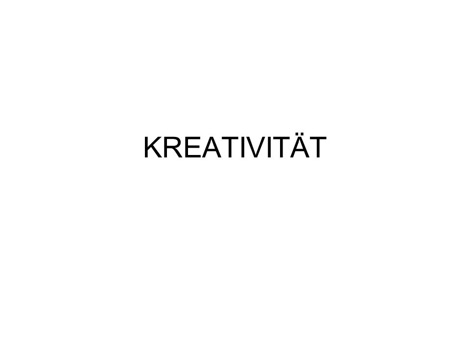 Ist Kreativität das Gleiche wie Gestaltung?