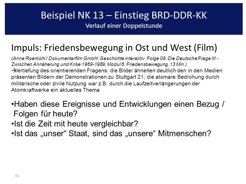 32 Impuls: Friedensbewegung in Ost und West (Film) (Anne Roerkohl / Dokumentarfilm GmbH: Geschichte interaktiv Folge 09: Die Deutsche Frage III - Zwis