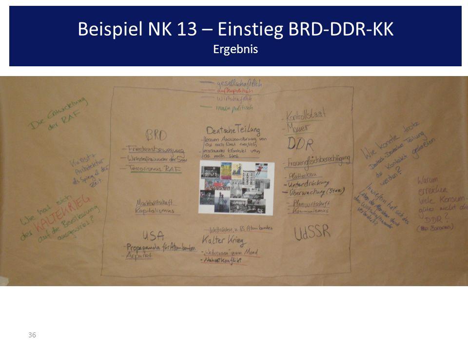 36 Beispiel NK 13 – Einstieg BRD-DDR-KK Ergebnis