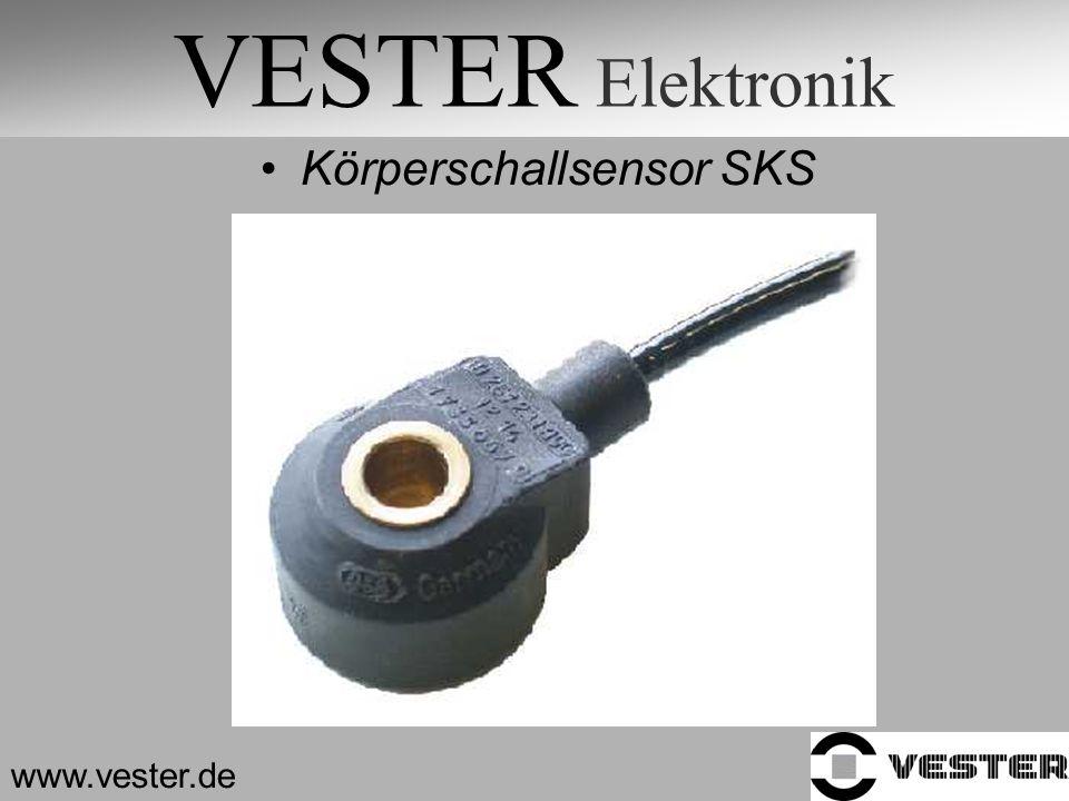 VESTER Elektronik Körperschallsensor SKS www.vester.de