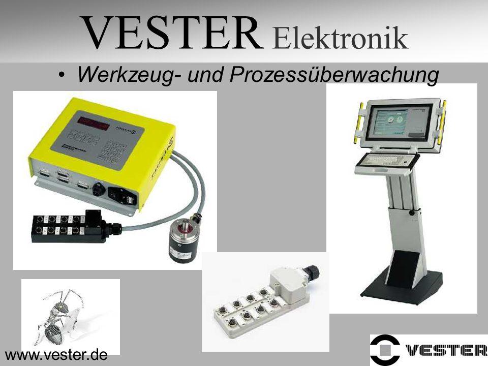 VESTER Elektronik Werkzeug- und Prozessüberwachung www.vester.de