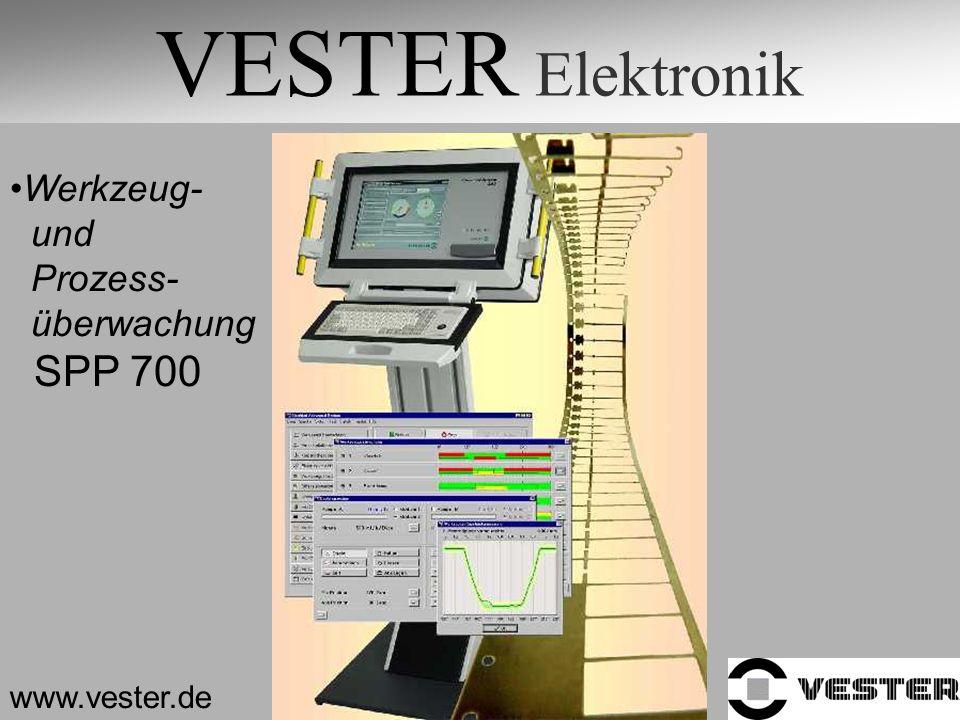 VESTER Elektronik www.vester.de Werkzeug- und Prozess- überwachung SPP 700