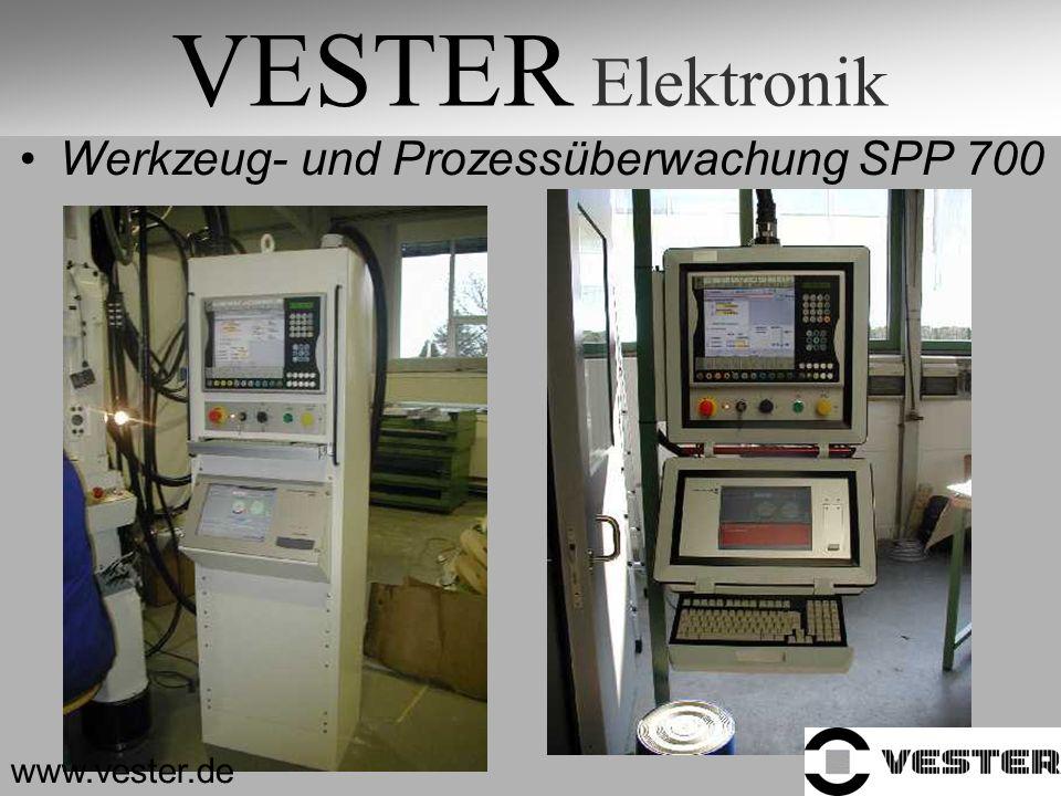 VESTER Elektronik Werkzeug- und Prozessüberwachung SPP 700 www.vester.de