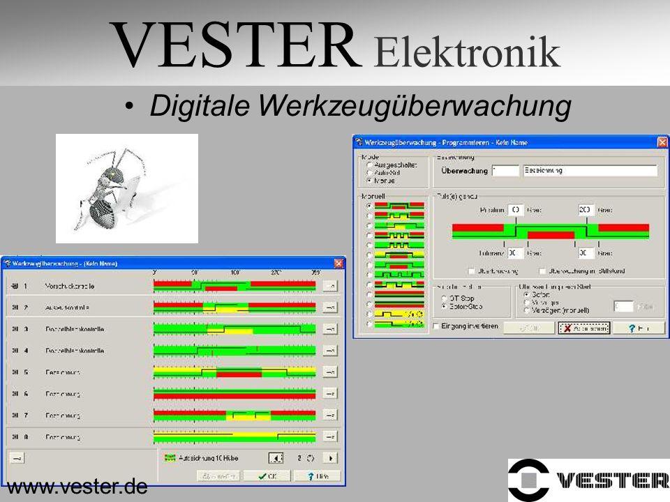 VESTER Elektronik Digitale Werkzeugüberwachung www.vester.de