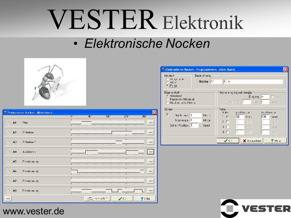 VESTER Elektronik Elektronische Nocken www.vester.de