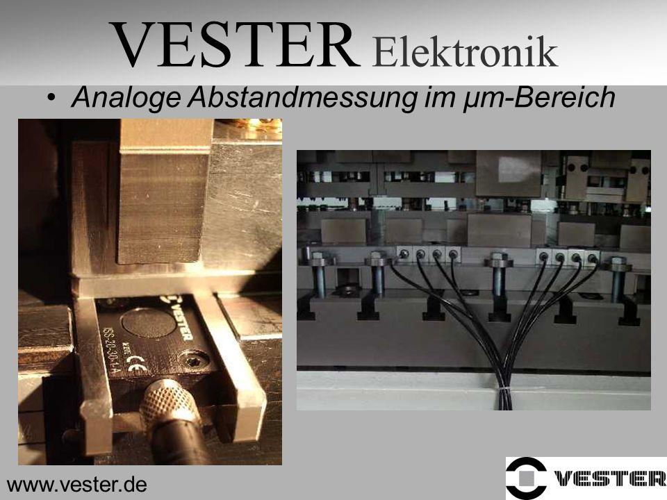 VESTER Elektronik Analoge Abstandmessung im µm-Bereich www.vester.de