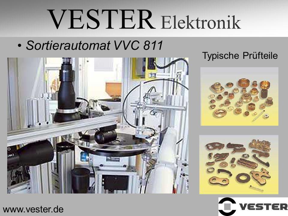 VESTER Elektronik Sortierautomat VVC 811 Typische Prüfteile www.vester.de