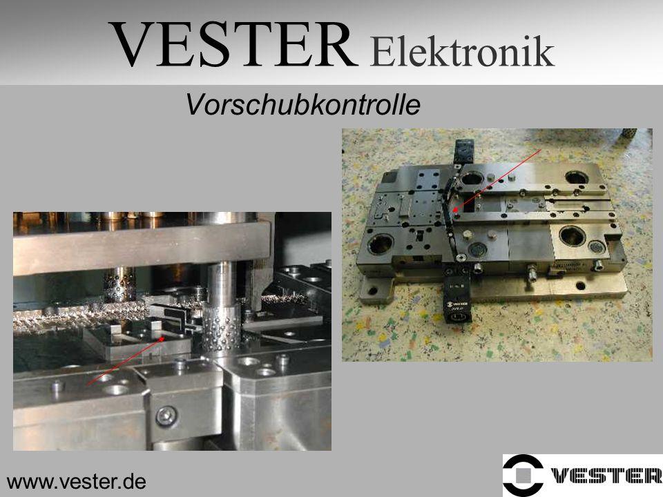 VESTER Elektronik Vorschubkontrolle www.vester.de