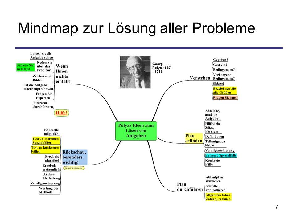 7 Mindmap zur Lösung aller Probleme