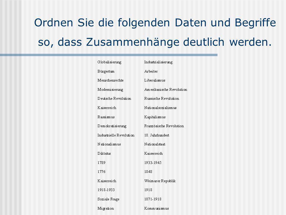 Leitkategorien in der Geschichtswissenschaft seit 2001 Jürgen Kocka, Das lange 19.