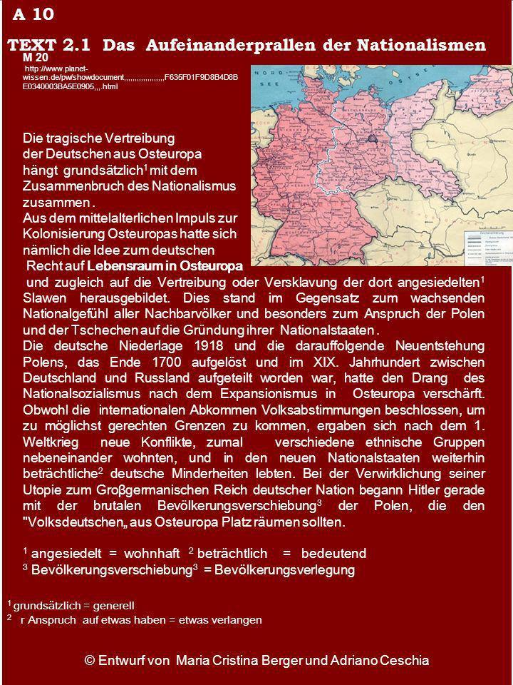 Die tragische Vertreibung der Deutschen aus Osteuropa hängt grundsätzlich 1 mit dem Zusammenbruch des Nationalismus zusammen. Aus dem mittelalterliche