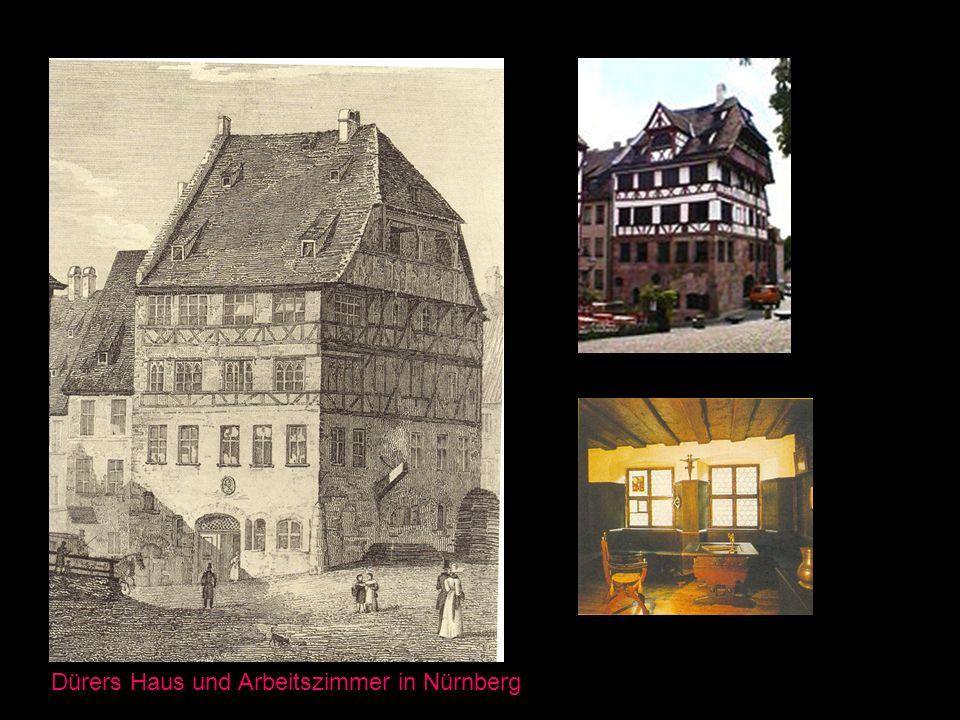 Dürers Haus und Arbeitszimmer in Nürnberg