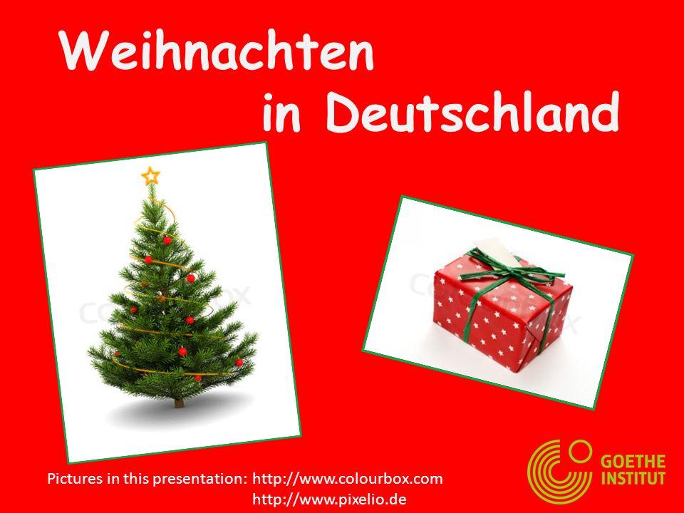 Wir bekommen Geschenke Das Christkind bringt die Geschenke.