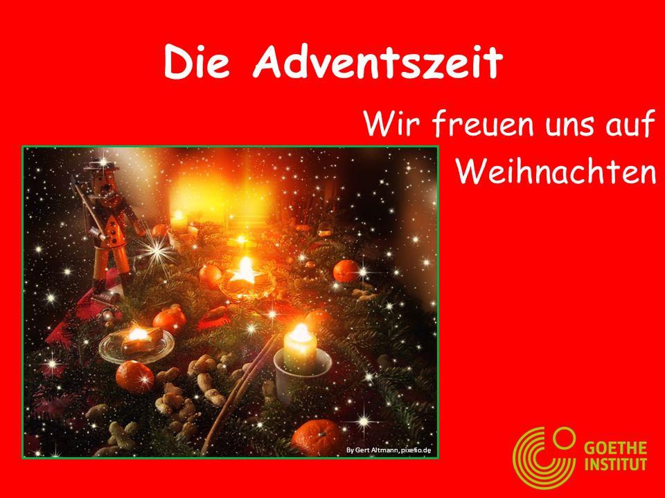 Der Adventskalender Jeden Tag öffnet man eine Tür. By marika, pixelio.de