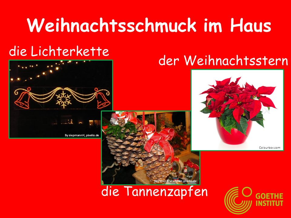 am 24.12. ist Heiligabend Wir feiern Weihnachten Colourbox.comBy Klaus Steves, pixelio.de