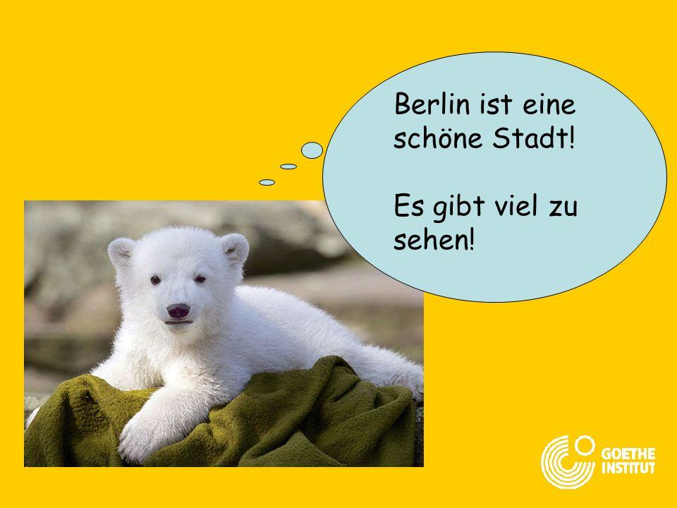 Jetzt gibt es nicht mehr Westberlin und Ostberlin! Nur noch ein Berlin!