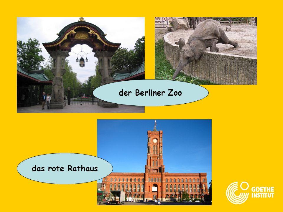 Berlin ist die größte Stadt in Deutschland! Es leben 3,4 Millionen Menschen in Berlin!