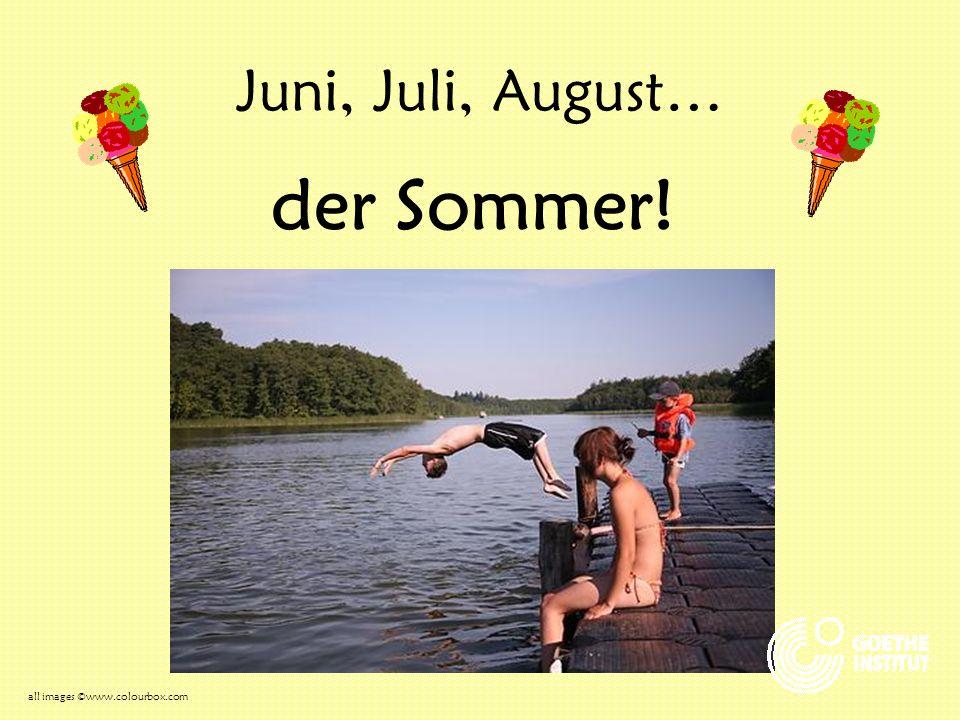 Die Kinder lieben den Sommer… keine Schule! Eis essen! all images ©www.colourbox.com