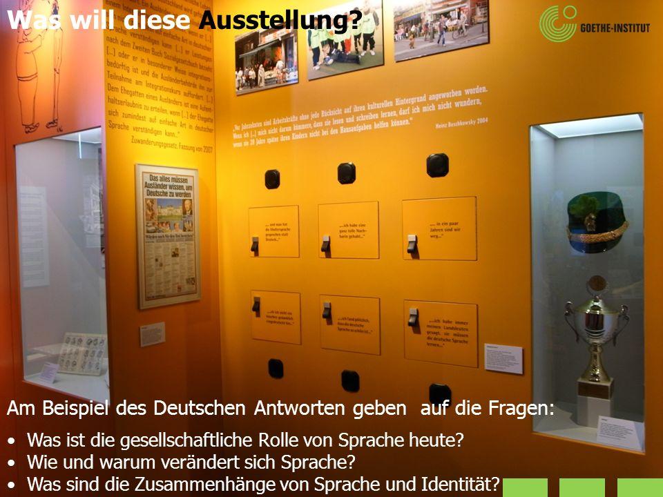 Am Beispiel des Deutschen Antworten geben auf die Fragen: Was ist die gesellschaftliche Rolle von Sprache heute? Wie und warum verändert sich Sprache?