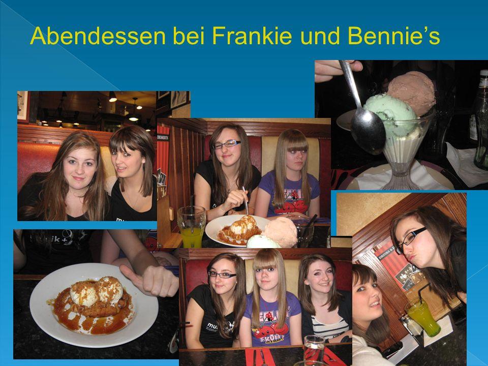 Abendessen bei Frankie und Bennies