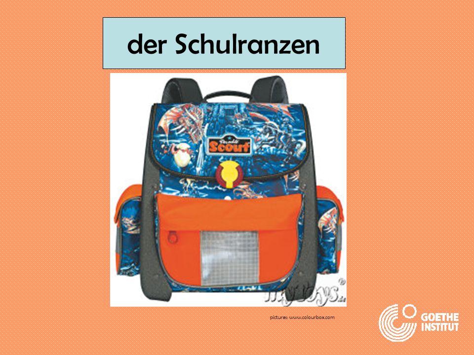 der Schulranzen pictures: www.colourbox.com