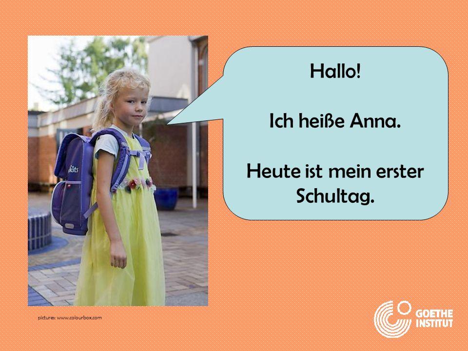 Ich bin 6 Jahre alt. pictures: www.colourbox.com
