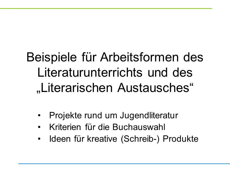 Literarisches Quartett: Fragen und Arbeitsaufträge für den Workshop Vorbereitung der Diskussion: Rollenkarten, sprachliche Mittel, Rezensionen.