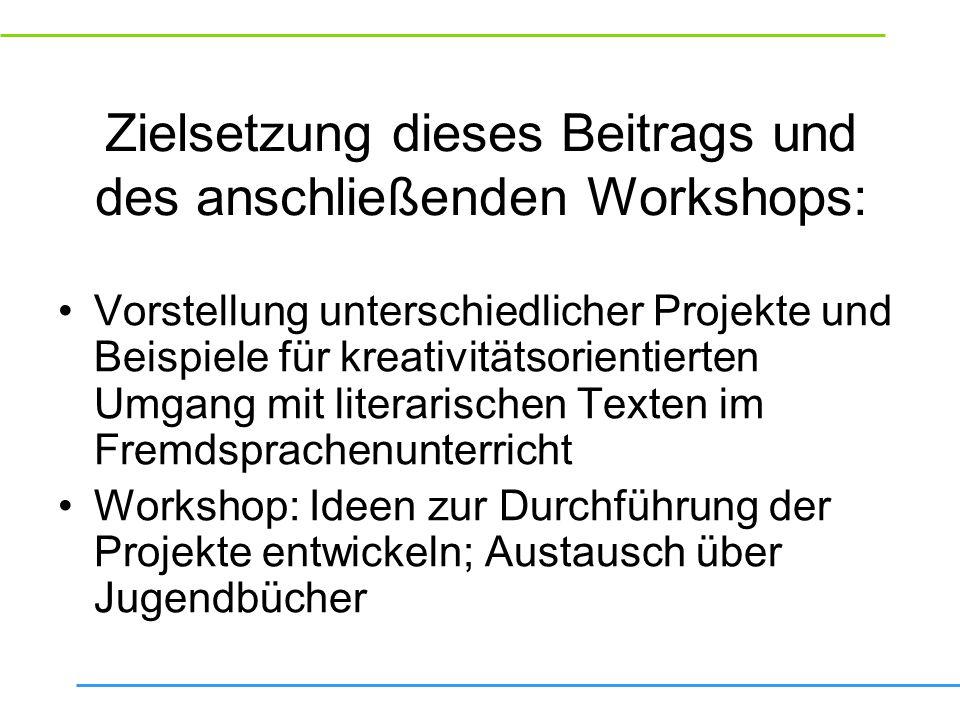 (Jugend-) Buchpreisverleihung Vorbilder und Projektbeschreibung Ziele Buchauswahl Durchführung (strukturierte Arbeitsblätter, pistes de lecture), Vorbereitung der Buchpräsentationen Präsentationen