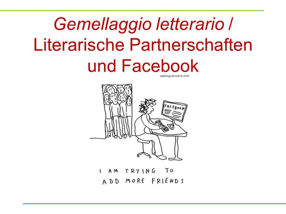 Gemellaggio letterario: Fragen und Arbeitsaufträge für den Workshop Wie kann man… den Austausch und dessen Zuverlässigkeit stärken.