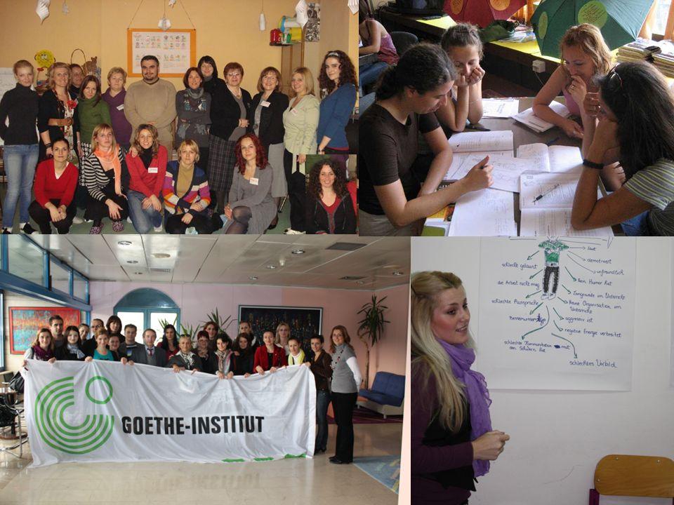 7 Partnerschulen Deutschlands in Bosnien und Herzegowina, die vom GI betreut werden: Gimnazija Filip Višnjić - Bijeljina JU Opća Gimnazija Bosanska Krupa - Bosanska Krupa Gimnazija Dr.