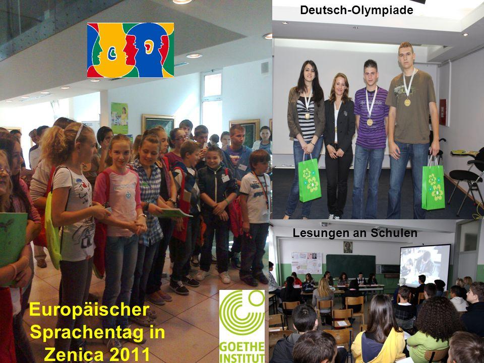 Europäischer Sprachentag in Zenica 2011 Deutsch-Olympiade Lesungen an Schulen