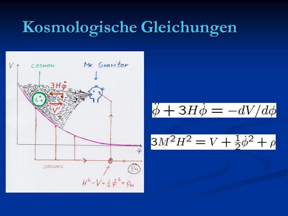 Kosmologische Gleichungen