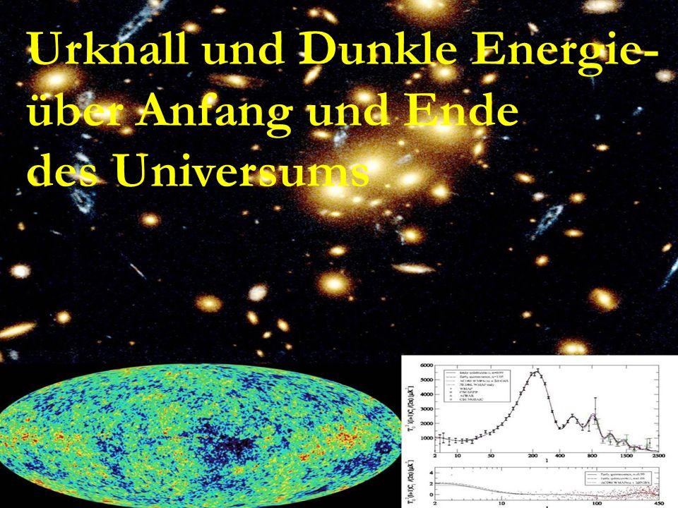 Dunkle Energie – Ein kosmisches Raetsel Urknall und Dunkle Energie- über Anfang und Ende des Universums